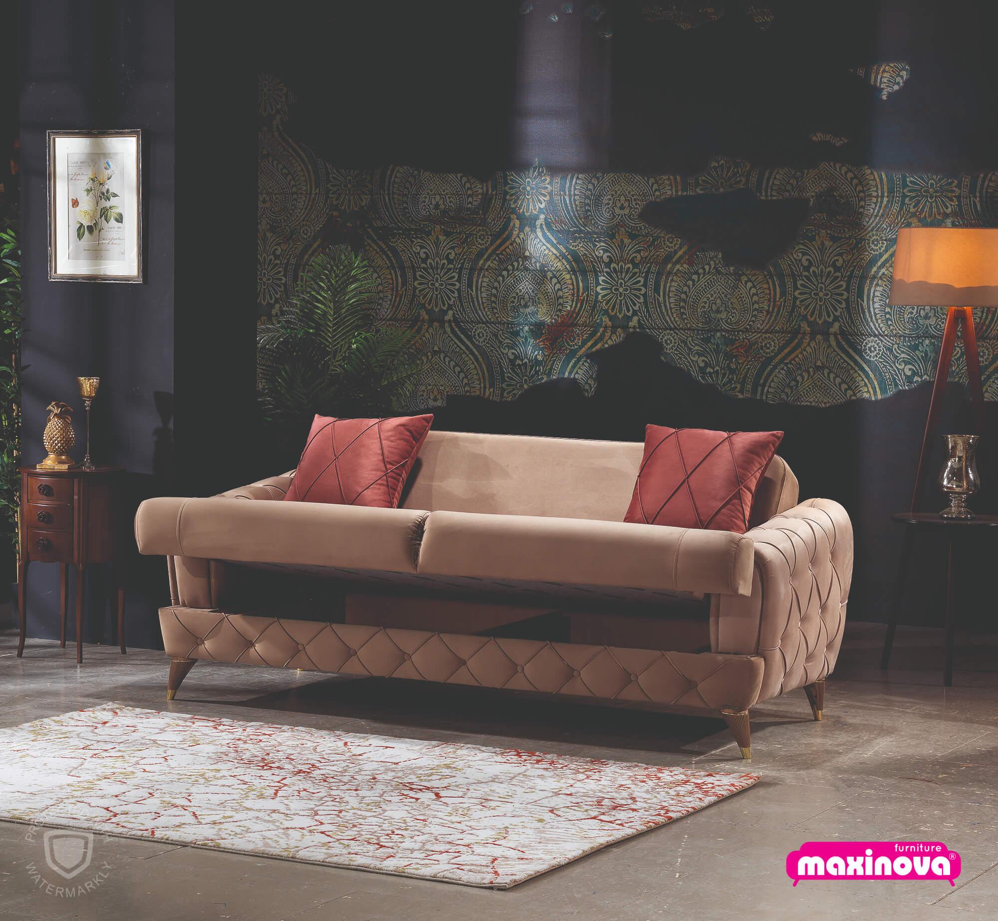 Canapea extensibila cu 2 locuri Gloria