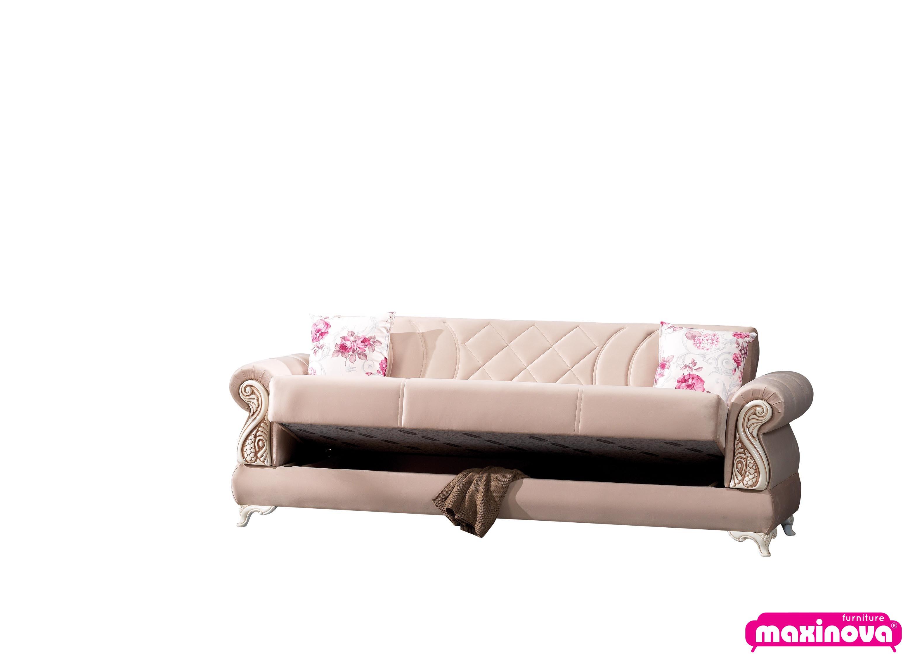 Canapea extensibila cu 2 locuri, Hisar, retro