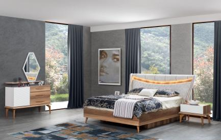 Cum sa decorezi dormitorul cu paturi tapitate de lux