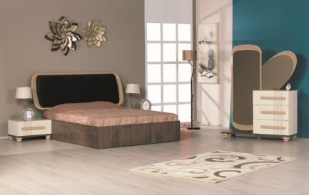 Un dormitor minimalist, pe gustul persoanelor care preferă liniile simple și culorile deschis