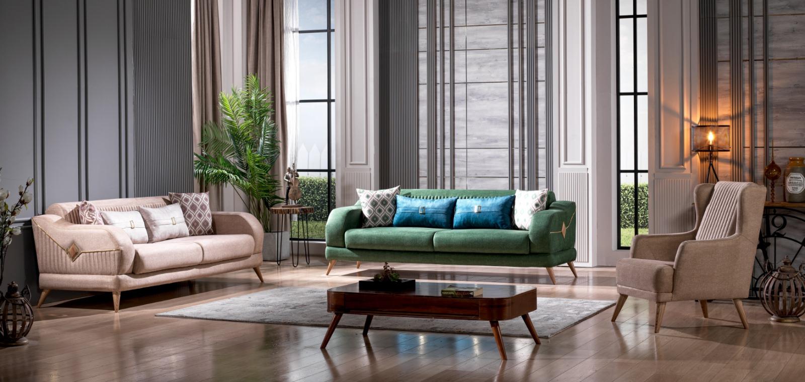 Canapea extensibila cu 2 locuri Bonita
