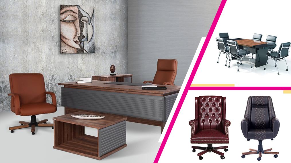 Mobilier de birou cu design impunator